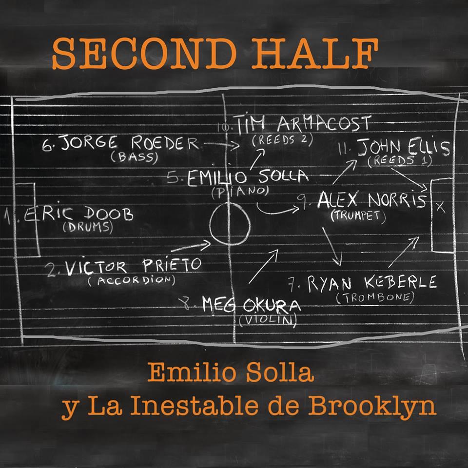 "Emilio Solla's ""Second Half"" nominated for a Grammy!"